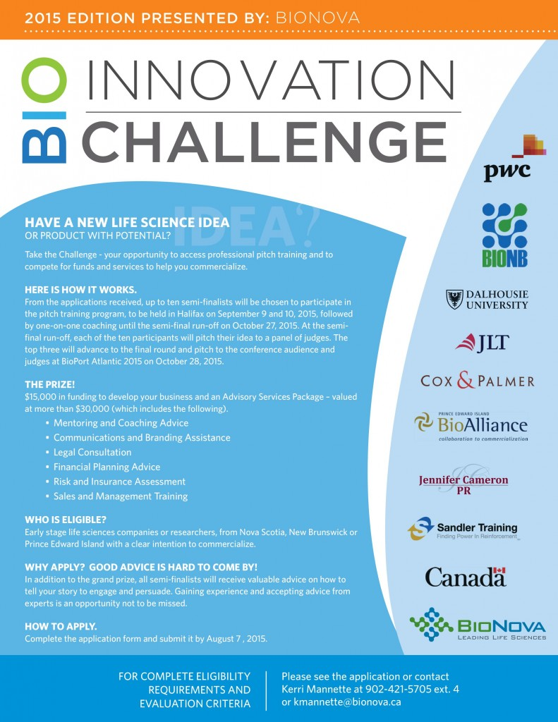 2015_16 BioInnovation Challenge