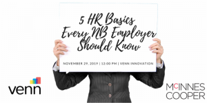 5 HR Basics Every NB Employer Should Know @ Venn Centre