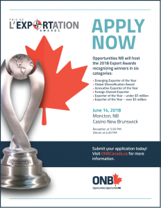 NB Export Awards / Les prix d'excellence en exportation @ Casino New Brunswick | Moncton | New Brunswick | Canada