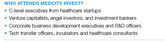 Who Attends MedCity INVEST